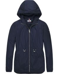 Tommy Hilfiger - Tommy Jeans Essential Windbreaker Jacket - Lyst