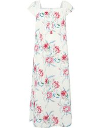 Nora Rose - Floral Print Nightdress - Lyst
