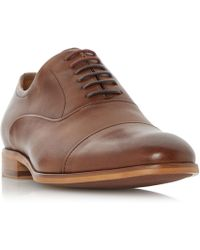 Dune - Padstow Soft Leather Toecap Oxford Shoes - Lyst