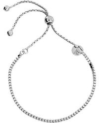 Azendi - Box Chain Adjustable Bracelet - Lyst