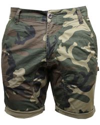 Alpha Industries - Men's Keresene Camo Shorts - Lyst