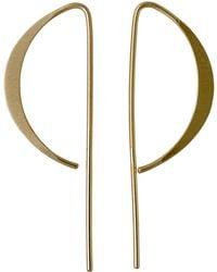 Pilgrim | Simple Pull Through Wire Earring | Lyst