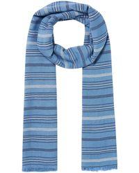 Dickins & Jones - Woven Stripe Textured Scarf - Lyst