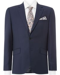 Howick - Darby Birdseye Slim Fit Suit Jacket - Lyst