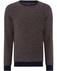 Criminal - Men's Norton Textured Knit Jumper - Lyst