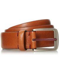 Dune - Neskhi Tumbled Leather Belt - Lyst