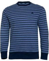 Raging Bull - Big & Tall Stripe Crew Sweater - Lyst