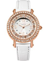Lipsy - Ladies Metallic Strap Watch - Lyst