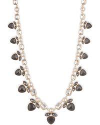 Anne Klein - Gold Necklace - Lyst