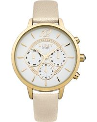 Lipsy - Ladies White Strap Watch - Lyst