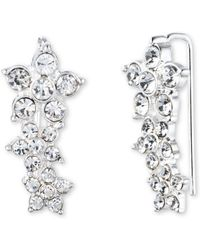 Anne Klein - Flower Cluster Earrings - Lyst
