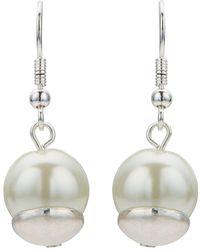 Jacques Vert - Pearl Drop Earring - Lyst