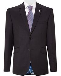 Ted Baker - Timeless Slim Fit Solid Suit Jacket - Lyst