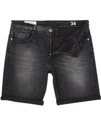 Criminal - Men's Grey Denim Shorts - Lyst