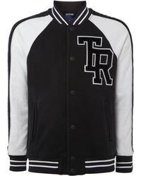 True Religion - Collegiate Bomber Jacket - Lyst