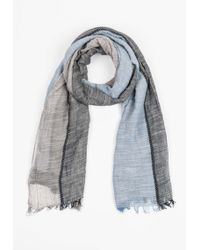 Antony Morato | Colour-block Scarf With Fringe Detailing | Lyst