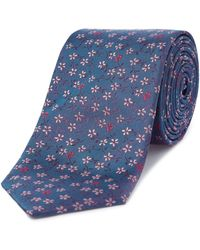 Ted Baker - Turno Ditsy Floral Tie - Lyst