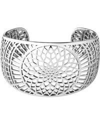 Links of London - Timeless Sterling Silver Cuff Bracelet - Lyst
