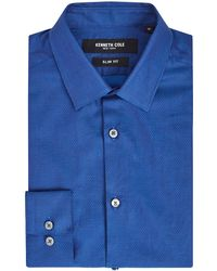 Kenneth Cole - Men's Minneapolis Slim Fit Textured Shirt - Lyst