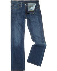 Levi's - 527 Bootcut Mostly Mid Blue Jeans - Lyst
