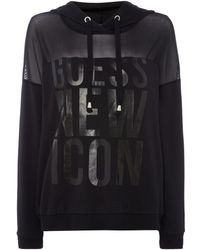 Guess - Sw New Icon Fleece - Lyst