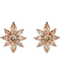 Mikey - Daisy Flower Stud Earring - Lyst