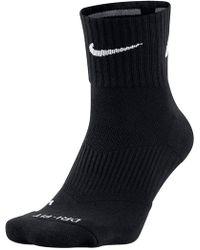 Nike - Men's Dri Fit Quarter Socks - Lyst