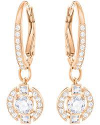 Swarovski - Sparkling Pierced Earrings - Lyst
