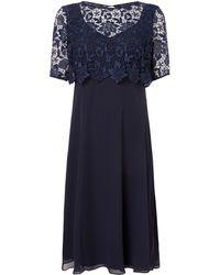 Ariella | Lace Overlay Peyton Dress | Lyst