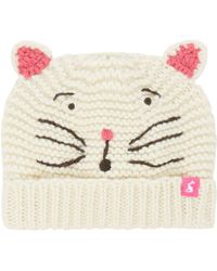 Joules | Baby Girls Cat Hat | Lyst