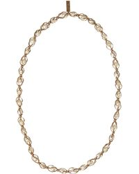 Weekend by Maxmara - Pearl Long Necklace - Lyst