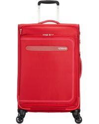 American Tourister - Airbeat 68cm Medium Red Suitcase - Lyst