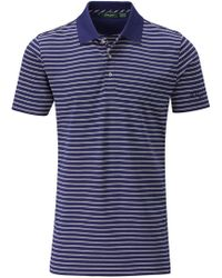 Bobby Jones - Double Pin Stripe Polo - Lyst