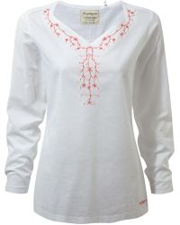 Craghoppers - Rayna Long Sleeved Lightweight Top - Lyst