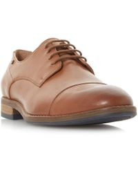 Dune - Bauer Toecap Casual Gibson Shoes - Lyst