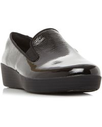 Fitflop - Superskate Slip On Skate Trainers - Lyst