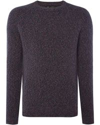 Label Lab | Men's Addison Twisted Wool Crew | Lyst