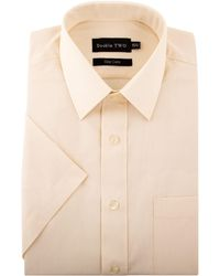 Double Two - King Size Classic Shirt Sleeve Shirt - Lyst