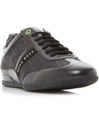 BOSS - Space Low Print Trainers - Lyst