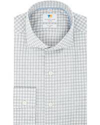 Richard James - Men's Melange Check Slim Fit Shirt - Lyst