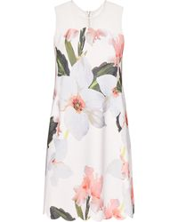 Ted Baker - Caprila Chatsworth Bloom Scallop Tunic - Lyst