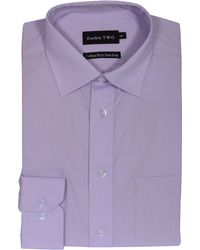 Double Two - Non Iron Poplin Long-sleeve Shirt - Lyst
