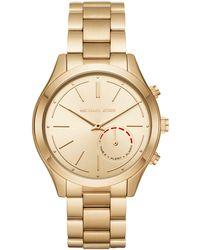 Michael Kors - Mkt4002 Ladies Bracelet Smart Watch - Lyst