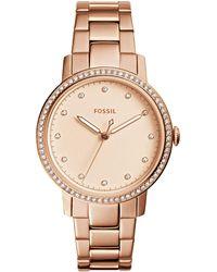 Fossil - Neely Analog Bracelet Watch - Lyst