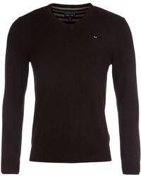 Eden Park - V-neck Cotton Sweater - Lyst
