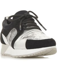 Dune - Eavie Mixed Material Runner Trainers - Lyst