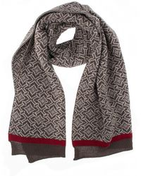 Dents - Womens Nordic Knit Scarf - Lyst