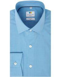 Richard James - Pupptooth Slim Fit Shirt - Lyst