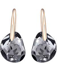 Swarovski - Galet Pierced Earrings - Lyst