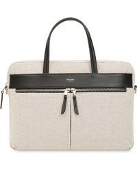 Knomo - Hanover 14 Slim Briefcase Bag - Lyst